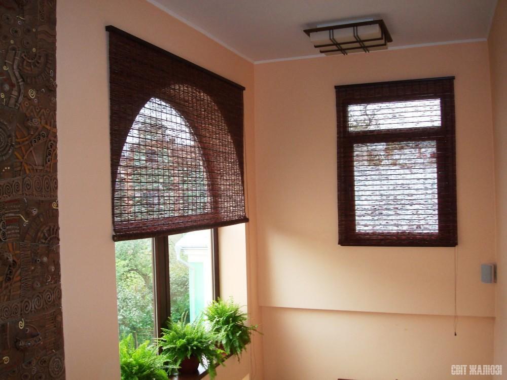 Бамбуковые шторы. Декор интерьера, защита от солнца.
